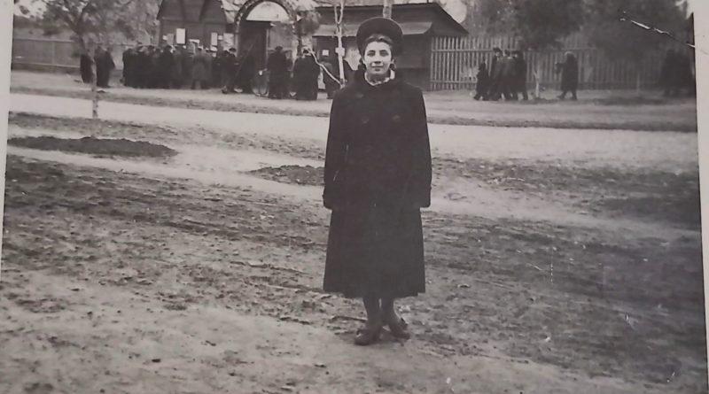 Вход в городской парк 60 лет назад